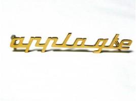 Scritta Appia GTE dorata mm.120