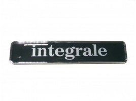 Integral frieze black 155x30 mm.