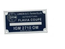 TARGHETTA FLAVIA COUPE