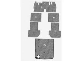 Tappeti SERIE COMPLETA 5a e 6a serie (copribatteria escluso) per Aurelia B20 GT