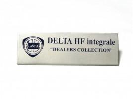 "Fregio Delta HF integrale ""dealer's collection"""