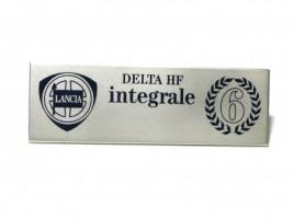 Fregio Delta HF integrale serie 6 mm.102x33