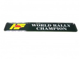 Frieze HF World Rally champion 155x30 mm.