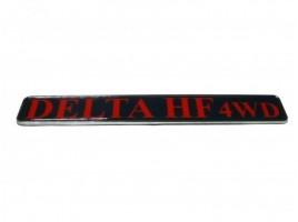 Rear plate Delta HF 4WD