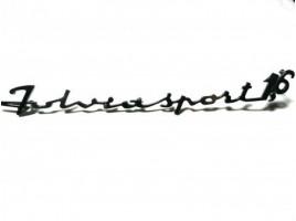 Fulvia 1.6 sport chrome lettering mm. 285