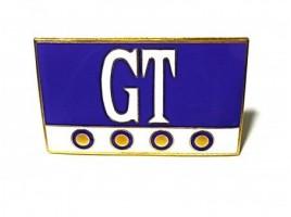 GT enameled coat of 60x35 mm.