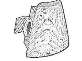 gruppo ottico freccia anteriore per Thema 1° serie senza porta lampada