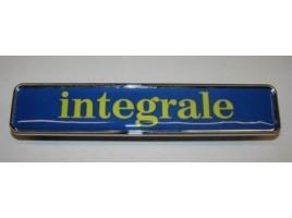 Fregio Integrale giallo mm 155x30