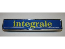 Integral mm 155x30 yellow frieze